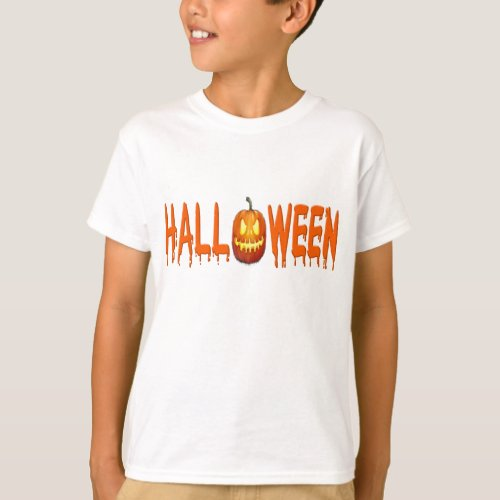 Halloween t_shirt pumpkin