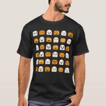 Halloween T-shirt: Pumpkins & Ghosts T-Shirt