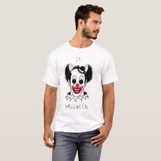 Halloween T-shirt Scary Clown