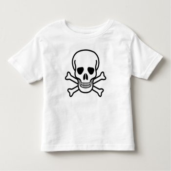 Halloween T Shirt With Skull by CREATIVEforKIDS at Zazzle