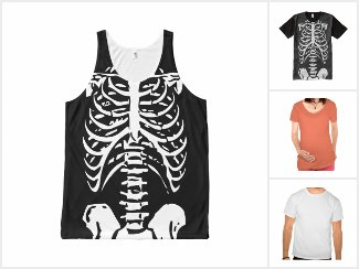 Halloween T-Shirts and Costume Shirts