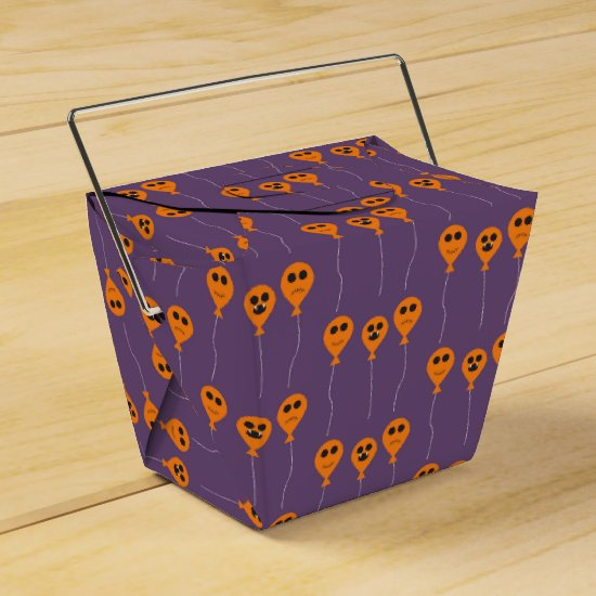Halloween Take Out Favor Box