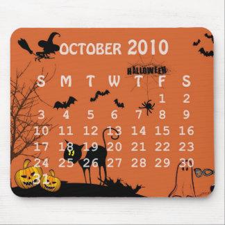 halloween tapis souris mouse pad