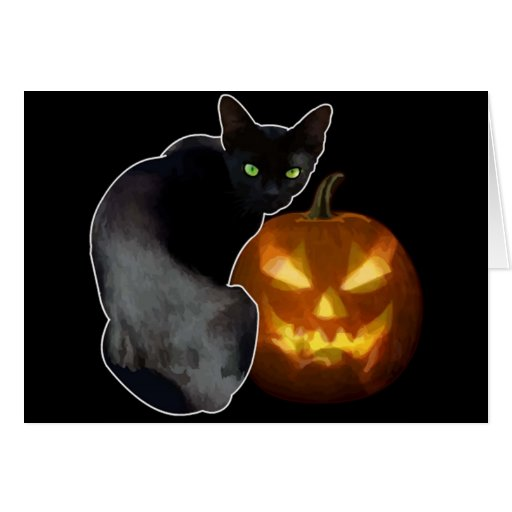 Halloween Tarjeta De Felicitación