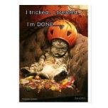 Halloween Tarjetas Postales