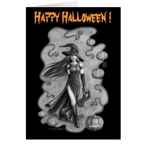 Halloween Tarjeton