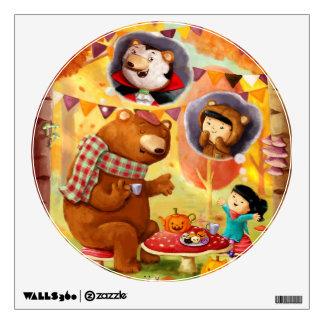 Halloween Tea Party Wall Sticker