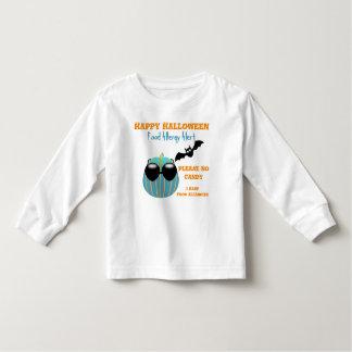 Halloween Teal Pumpkin Food Allergy Shirt