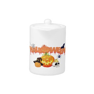 halloween Halloween Teapot