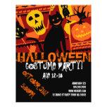 Halloween Teen Party Event Announcement  Flyer