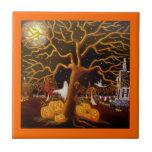 Halloween, teja, fantasmas, Jack-O-Linterna, cemen