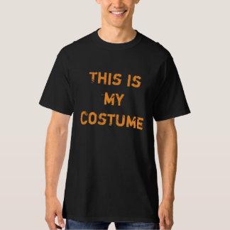"""Halloween temático: """"Éste es camiseta de mi traje"""""""