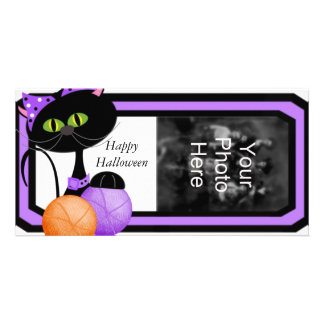 Halloween Template Family Photo Cards