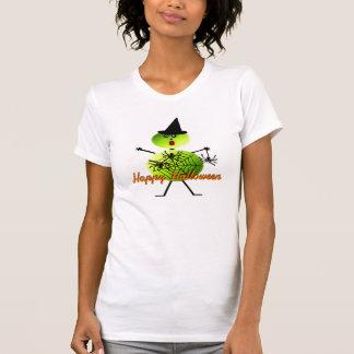 Halloween Tennis Player T Shirt