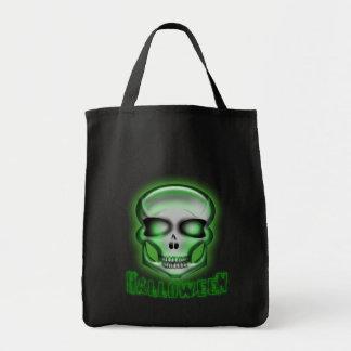 Halloween Terminator-like Zombie Skull   Bag