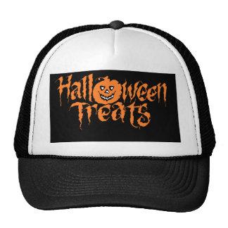 halloween text trucker hat