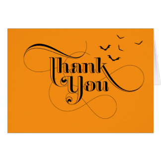 Halloween Thank You Cards   Zazzle