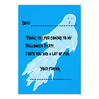 Halloween Thank You Note Cards From Kids