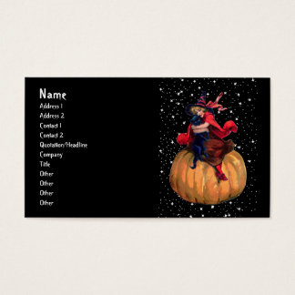 Halloween: The Final Frontier Business Card