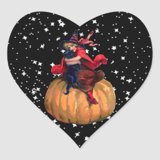 Halloween: The Final Frontier Heart Sticker