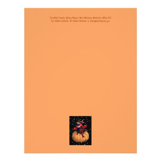 Halloween: The Final Frontier Letterhead