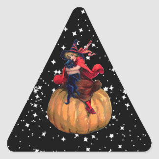 Halloween: The Final Frontier Triangle Sticker