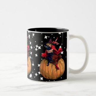 Halloween: The Final Frontier Two-Tone Coffee Mug