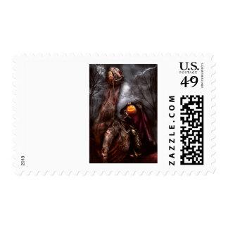 Halloween - The Headless Horseman Postage Stamps