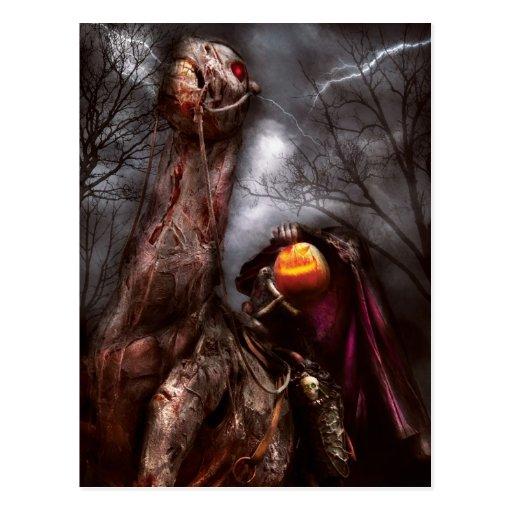Halloween - The Headless Horseman Postcard