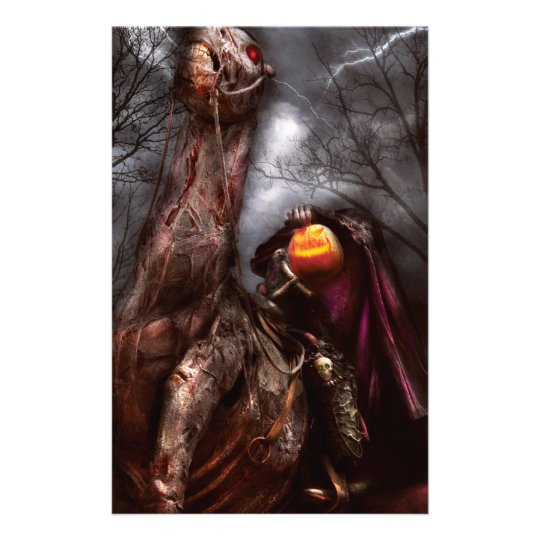 Halloween - The Headless Horseman Stationery