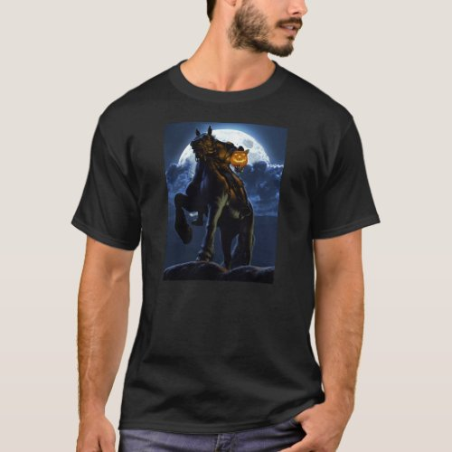 Halloween _ The Headless Horseman T_Shirt