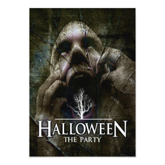 """Halloween """"The Party"""" Card"""