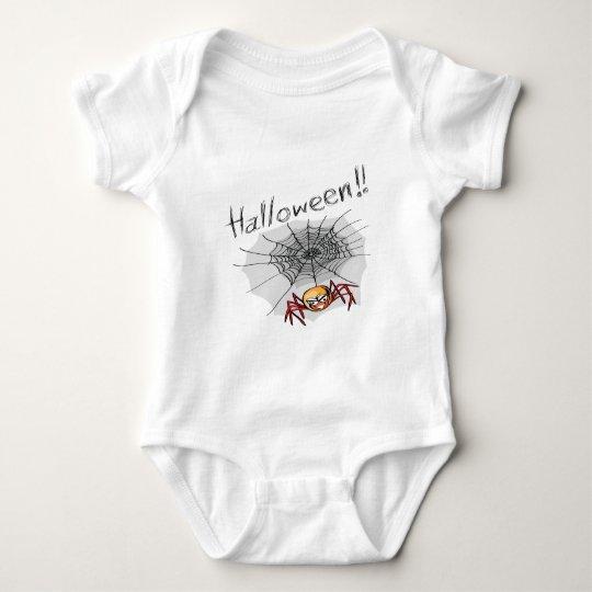 halloween theme baby bodysuit