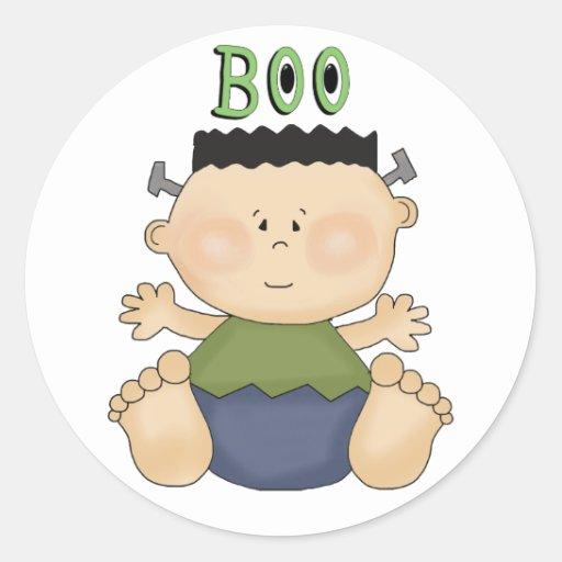 Baby Boy Gifts Halloween : Halloween theme baby boy boo fun stickers zazzle