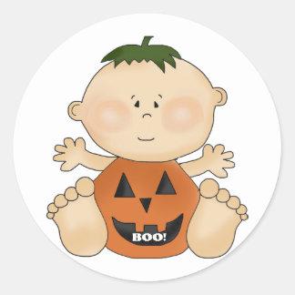 Halloween Theme BOO Baby Boy Fun Stickers