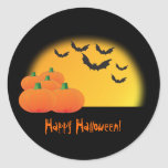 Halloween Theme Sticker - Customize It! at Zazzle