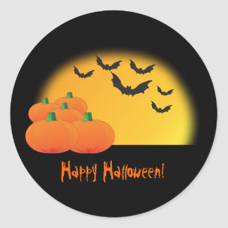 Halloween Theme Sticker - Customize It!