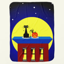 Halloween-themed  Infant Blanket or Mini-Throw