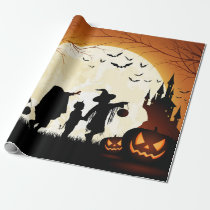 Halloween Themed Matte Wrapping paper