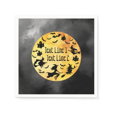 Halloween Themed Halloween-Themed Occasion Personalized Paper Napkin