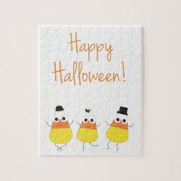 Halloween Themed Halloween Themed Puzzle   Candy Corn