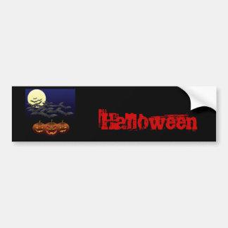 Halloween third Bumper Sticker