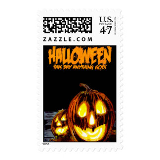 HALLOWEEN: This Day Anything Goes Postage