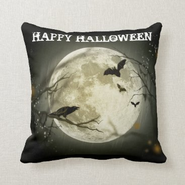 Halloween Themed Halloween Throw Pillow
