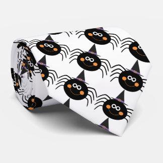 Halloween Tie/Cute Spiders Tie