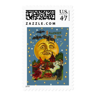 Halloween Time Postage Stamps