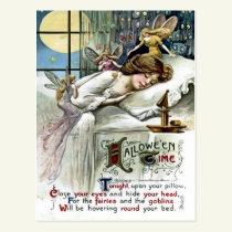 Halloween Time Postcard