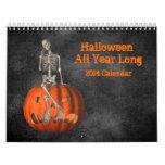 Halloween todo el año de largo 2014 calendarios