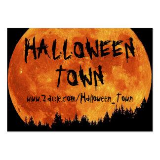 HALLOWEEN_TOWN BUSINESS CARD TEMPLATE