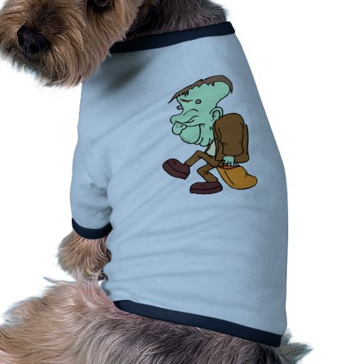 Halloween trata Frankenstein Ropa Perro